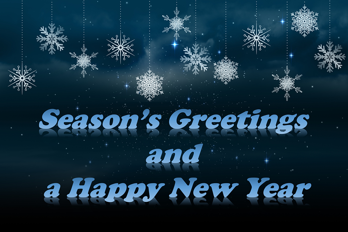 Season�fs Greetings and a Happy New Year