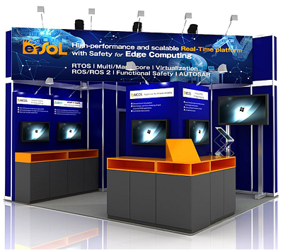 Meet us at eSOL's booth in Embedded World 2020