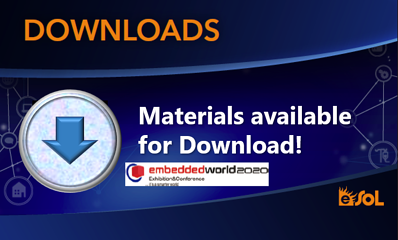 eSOL Materials displayed at Embedded World 2020 now available for download!